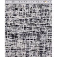 Impregnovaná látka  kočárkovina vzor - čáry bílé