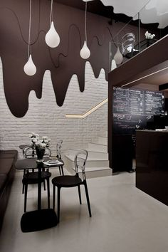 Who likes chocolate!? This café is located in Poland and designed by Bro.Kat.