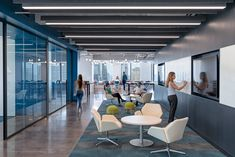Ginkgo Lounge Low Back chairs (white) from Davis Furniture in the Acticall Sitel Group offices - designed by Gensler Small Workspace, Workspace Design, Office Interior Design, Office Designs, Corporate Office Design, Corporate Interiors, Office Interiors, Small Office, Office Den