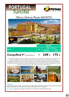 Portugal Continental agosto  Hotel Campo Real 5* Spa  Resort (7N) desde 349 € - http://zocotours.com/portugal-continental-agosto-hotel-campo-real-5-spa-resort-7n-desde-349-e/