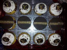 Louis Vuitton Cupcakes | Louis Vuitton Cupcakes | Designer Birthday Cakes | Pinterest