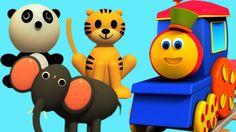 Bob, The Train | Bob Animal Train in Korean |밥 동물 기차 어린이 #bobthetrain #animalsongs #kidsong #childrensong #parenting #education #entertainment #babysongs