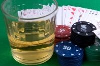 Link between alcoholism and gambling addiction