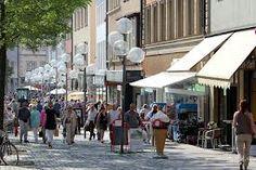 Downtown Schweinfurt , Germany