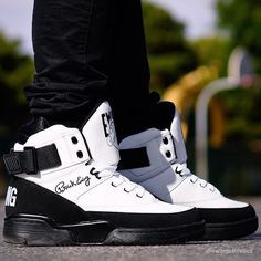 "The Exclusive Blog About Sneakers — kickzzondeck:   Ewing 33 Hi ""Black/White""  ..."
