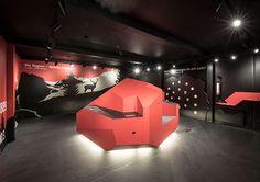 Infoarena Preda. Design by Erlebnisplan in Zusammenarbeit mit Frank Dittmann GmbH
