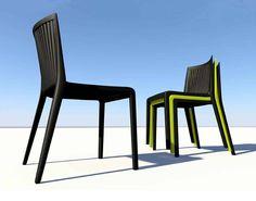 #Meubelklik. #Design #stoel COOL staat synoniem voor #stevig en #robuust. Deze #stapelbare #stoel is vervaardigd uit #polypropyleen, versterkt met #glasvezel. #Eetkamerstoel COOL kan naast uw #interieur ook buiten gebruikt worden als #design #tuinstoel.