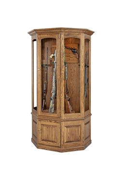 Amish Made Heirloom 16-gun Cabinet
