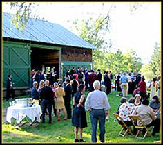 wedding - if I could have a do over for our wedding day, this barn would be my vote.  I love this style