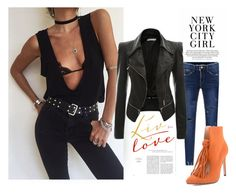 """""""city life"""" by suger-520 on Polyvore featuring top, coat and lovelywholesale"""