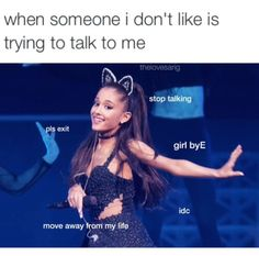 ariana grande is my inspiration to sing & is the reason i love it so frickin much? i hnc what id do w/out her in my life ily ari & all y'all arianators out there? Funny Relatable Memes, Funny Posts, Funny Quotes, Relatable Posts, Ariana Grande Meme, Bae, Really Funny, My Idol, I Laughed