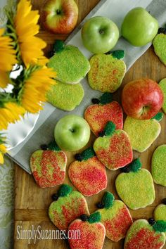Cinnamon sugar apple cookies