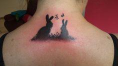 #bunnytattoo #rabbittattoo