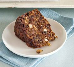 Fig & honey Christmas cake