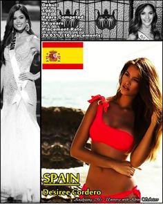 Desiree Cordero Miss Universe 2014 contestant banner Spain