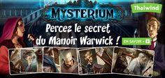 #Mysterium Un #jeu qui veut remettre les jeux d'enquête au goût du jour #j2s Perfect #boardgame for #Halloween