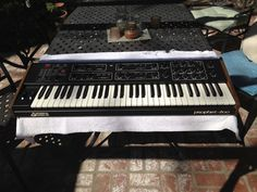 MATRIXSYNTH: Prophet 600 MIDI Synthesizer SN 1455 with Data Cas...