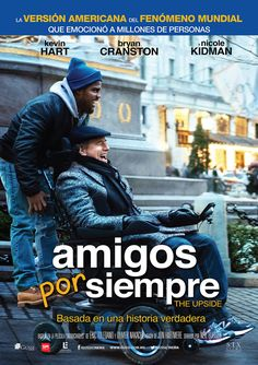 The Upside in US theaters January 2019 starring Bryan Cranston, Kevin Hart, Nicole Kidman, Amara Karan. A recently paroled ex-convict (Kevin Hart) who strikes up an unlikely friendship with a paralyzed billionaire (Bryan Cranston). Movies 2019, New Movies, Good Movies, Watch Movies, Popular Comedy Movies, Movies Point, Netflix Movies, Funny Movies, Scary Movies