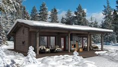 Holiday Homes | Honka Canada East (no sauna)
