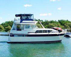 Used 1984 Chris - Craft 410 Motor Yacht, 1000 Islands, Ny - 13601 - BoatTrader.com