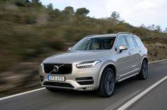 Volvo XC90 2015 - front tracking
