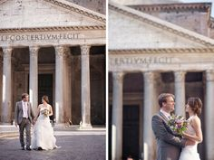 Wedding Photographer Rome – Honeymoon Session at Dawn at Navona Square - Rossini Photography