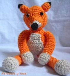 Foxy el zorro / Foxy the orange fox De #perrosos y mas