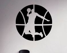 Baloncesto pared etiqueta cesta bola pegatina por BestDecalsUSA Basketball Bedroom, Basketball Wall, Love And Basketball, Basketball Jones, Basketball Anime, Vinyl Wall Art, Wall Decal, Wall Murals, Basketball Shirt Designs