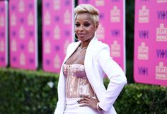 Recording artist Mary J. Blige attends the VH1 'Dear Mama' taping.