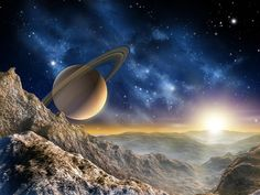 Ruimtevaart behang Space XL