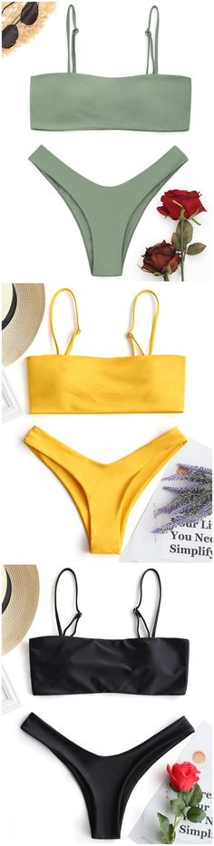 Up to 80% OFF! High Cut Cami Bikini Set. #Zaful #Swimwear #Bikinis zaful,zaful outfits,zaful dresses,spring outfits,summer dresses,Valentine's Day,valentines day ideas,cute,casual,fashion,style,bathing suit,swimsuits,one pieces,swimwear,bikini set,bikini,one piece swimwear,beach outfit,swimwear cover ups,high waisted swimsuit,tankini,high cut one piece swimsuit,high waisted swimsuit,swimwear modest,swimsuit modest,cover ups,swimsuit cover up @zaful Extra 10% OFF Code:ZF2017 #onepieceswimsuit