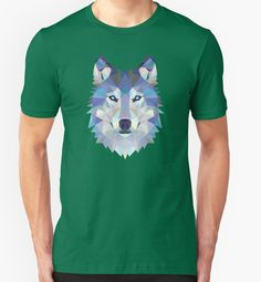 Game Of Thrones Polygonal Dire Wolf   RedBubble Unisex Green TShirt   All Sizes Available for Men and Women @redbubble