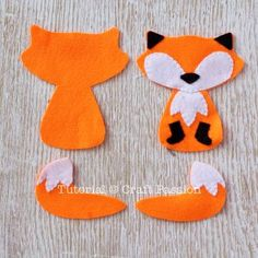 Animal Sewing freddy fox felt sewing - Universal fox pattern for felt / leather ornament, scrapbooking, appliqué patchwork. Enlarge the fox pattern to sew into soft toy as alternative. Fox Ornaments, Felt Ornaments Patterns, Felt Christmas Ornaments, Christmas Cross, Easy Felt Crafts, Fox Crafts, Felt Animal Patterns, Stuffed Animal Patterns, Felt Fox