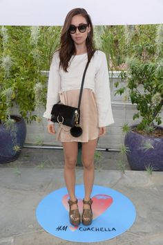 Rumi Neely. See what all the celebs are wearing at Coachella 2015.
