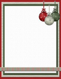 free christmas paper computer | Christmas Stationery 3 Theme FREE Digital Stationery
