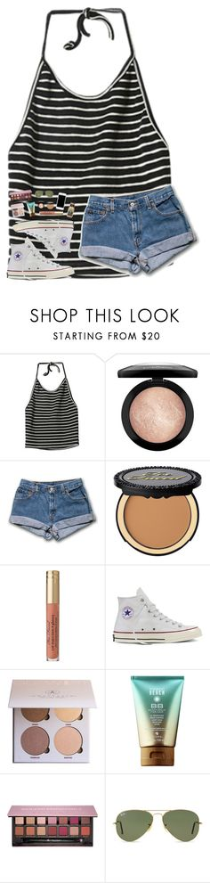 """""""life is worth living"""" by southern-belle606 ❤ liked on Polyvore featuring MAC Cosmetics, Converse, Anastasia Beverly Hills and Ray-Ban"""