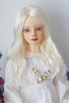 (Lord_Fuuu) Tags: volks sd sd10 school head c classroom girl bjd doll albino ciara monique wig white blond color 481