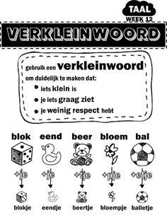 Co Teaching, Creative Teaching, Live Life Love, Dutch Language, School Items, Background Information, Language Lessons, Pre School, Grammar