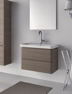 Catalano Projections 75 Washbasin & Double Drawer Cabinet - Rogerseller