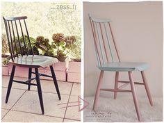 DIY : une chaise pastel pour mon bureau