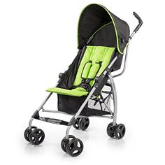 Summer Infant Go Lite Convenience Stroller, Go Green Go [Baby Product] - baby products Best Lightweight Stroller, Best Double Stroller, Double Strollers, Baby Strollers, Best Prams, Umbrella Stroller, Baby Online, Happy Baby, Cool House Designs