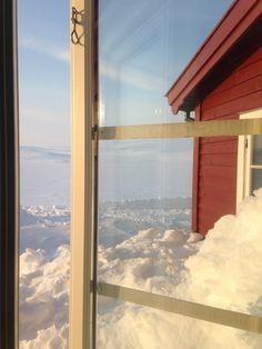 Hardangervidda på ski - Inger Anne Vik