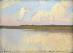 """И.И.Левитан """"Пейзаж"""" 1899г."""