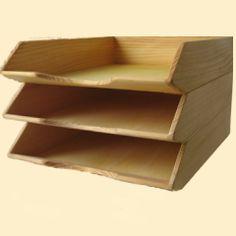 Holz-Ablage aus Fichte/ Tanne, 10,65€