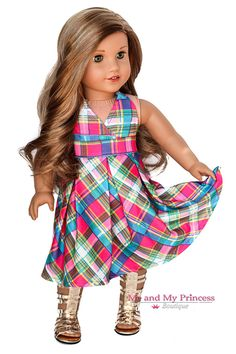 Me and My Princess Boutique offers 18 inch doll clothes, accessories and shoes that fit American Girl Doll and American Boy Doll at affordable prices. American Girl Outfits, My American Girl Doll, American Girl Crafts, American Doll Clothes, Baby Doll Clothes, Doll Clothes Patterns, Doll Patterns, Sewing Patterns, Vogue