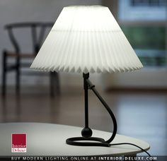306 Table Lamp - Le Klint  Shop Online http://www.interior-deluxe.com/306-table-lamp-p19874.html  ‪#‎ModernLighting‬ ‪#‎InteriorDeluxe‬ ‪#LeKlint