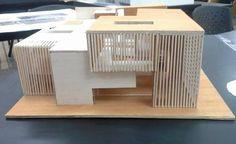 Bildergebnis für Architekturdesign der städtischen Gebäude - #Architektur Maquette Architecture, Modern Architecture House, Concept Architecture, School Architecture, Modern House Design, Interior Architecture, Interior Design, Arch Model, Miniature Houses