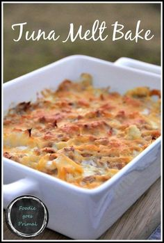 Low Carb Recipes To The Prism Weight Reduction Program Low Carb Tuna Melt Bake Lchf, Banting, Comfort Food Delicious, Healthy, And Suitable For Keto Too Lchf Recipes Lunch, Banting Recipes, Tuna Recipes, Ketogenic Recipes, Seafood Recipes, Low Carb Recipes, Cooking Recipes, Healthy Recipes, Ketogenic Diet