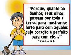 Mudadinhos | Ministério Infantil Tempo de Mudança: Versículo da Semana!!!