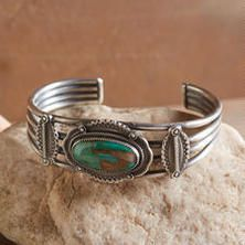 HERITAGE ROYSTON TURQUOISE CUFF....I just *never* seem to get tired of turquoise. Ever!